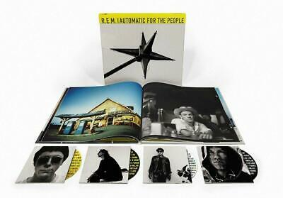 R.E.M. – AUTOMATIC FOR THE PEOPLE 25th ANNIVERSARY 3CD & BLU-RAY DELUXE (NEW)