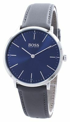5d07d4979938 HUGO BOSS MEN S Horizon 40mm Steel Bracelet   Case Quartz Analog ...
