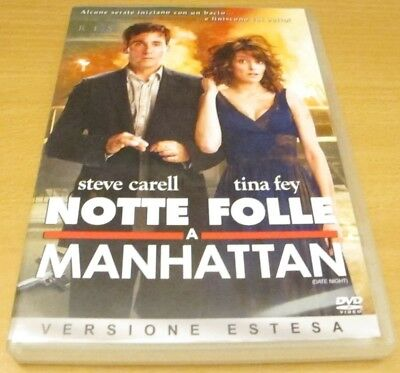 Notte folle a Manhattan - Shawn Levy - Steve Carell - DVD - Imbustato PERFETTO!
