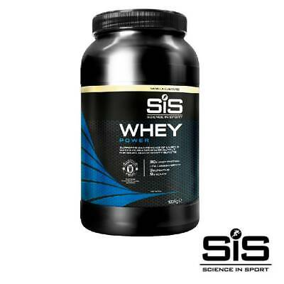 Science in Sport (SiS) WHEY Power Football Protein Powder 1kg Vanilla Custard