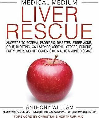 NEW Medical Medium Liver Rescue By Anthony William Hardcover Free Shipping