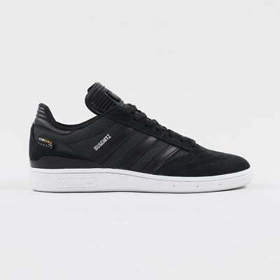 huge selection of 05b84 10a64 Adidas Skateboarding Mens Busenitz Suede Mesh Skate Shoes Black White  Silver