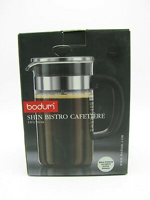 Bodum Shin Bistro French Press Coffee Maker In Box #10358