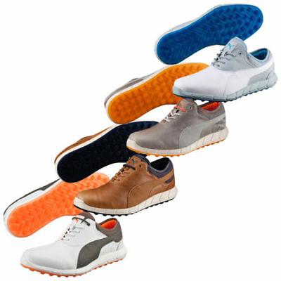Puma Golf Mens IGNITE Spikeless Leather Waterproof Golf Shoes 40% OFF RRP