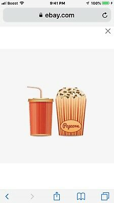 AMC - 1 Large Drink & 1 Large Popcorn.Exp 6/30/20