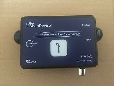 beandevice mono-axis inclinometer hi-inc  range: ±30°