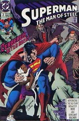 Superman: Man of Steel (Vol 1) # 2 Near Mint (NM) DC Comics MODERN AGE