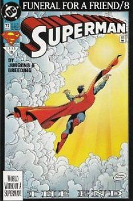 Superman (Vol 2) # 77 Near Mint (NM) DC Comics MODERN AGE