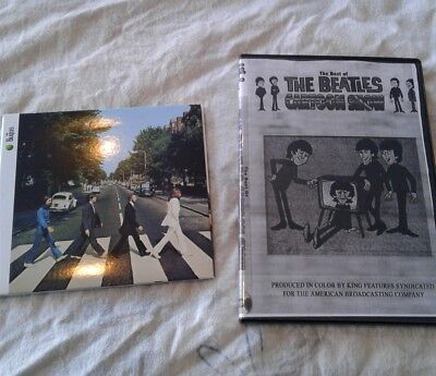 The Beatles Abbey Road remaster CD mini vynils Digi pack + cartoons DVD