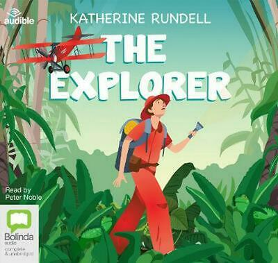 The Explorer by Katherine Rundell Compact Disc Book Free Shipping!