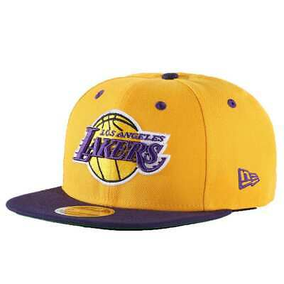 6b703f19f091 Casquette New Era 9Fifty Nba Los Angeles Lakers 2Tone Jaune Homme