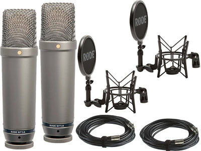 RODE NT1-A MP - Complete Vocal Bundle Matched Pair