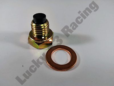 2016 Magnetic Oil Sump Plug with Copper Washer Triumph Thruxton 1200 R EFI