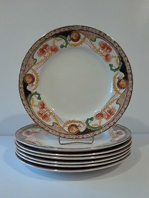 Antique set of 7 Royal Staffordshire Renown dinner plates