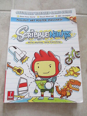 Prima Official Game Guide Scribblenauts Video Game Paperback Book