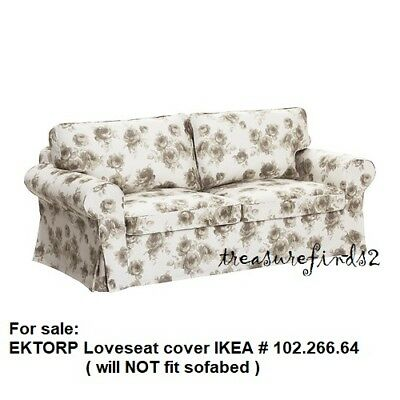 Admirable Ikea Cover For Ektorp Loveseat 2 Seat Sofa Slipcover Norlida Gmtry Best Dining Table And Chair Ideas Images Gmtryco