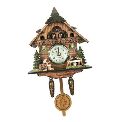 Creative Cuckoo Coo Wall Clock Decorative Clock Christmas Gift-I