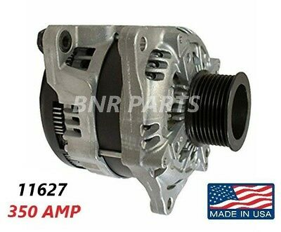 350 AMP 11627 ALTERNATOR FORD F Super Duty HIGH OUTPUT Performance NEW HD USA