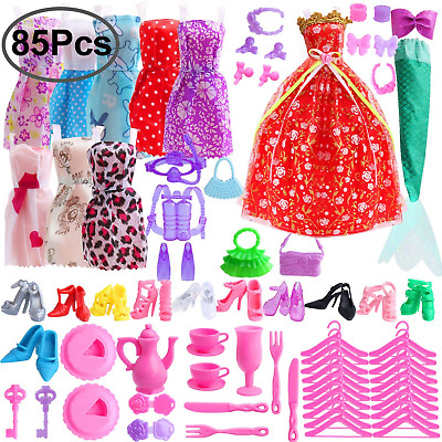 Outee 85 Pcs Doll Clothes Set for barbie Xmas Gift Including 10 70...
