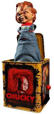 Child's Play Scarred Chucky Mezco Burst-A-Box