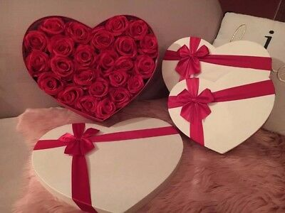 Forever Love Heart Flower Box