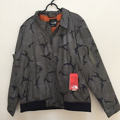 bbb4fdcfc8 2018 THE NORTH Face BARSTOL AVIATOR JACKET size M  140 CAMO -  66.73 ...