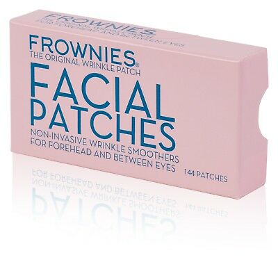 UK Stock Frownies Forehead & Eyes Patches & 2 sachets Proaura Day Cream
