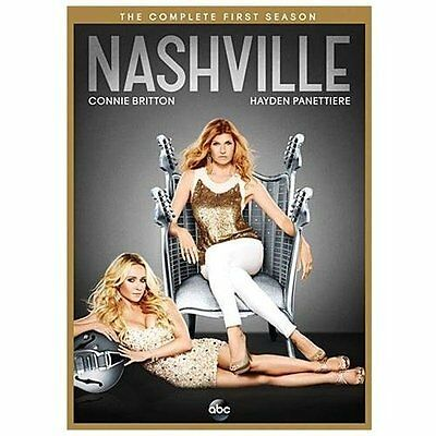 Brand NEW Factory Sealed NASHVILLE: The Complete First Season 1 DVD 2013 5-Disc