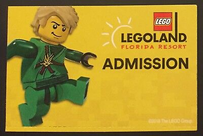 Legoland Florida 1 Day Theme Park + Water Park Ticket