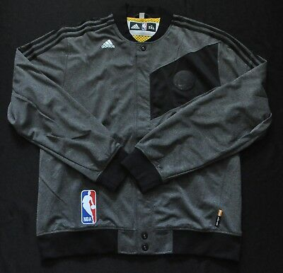 GOLDEN STATE WARRIORS Warmup Jacket Adidas Gray Limited Procut Team Issue  2XL+0 9c50156af