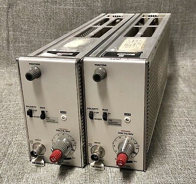 2 Tektronix Am-6565/u Military Amplifier Plug Ins For 7000 Series Scopes