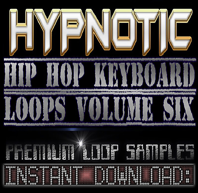 HYPNOTIC PIANO,RHODES,SOUNDS WAV LOOP SAMPLES V.6 Hip Hop Akai Reason Fl Studio