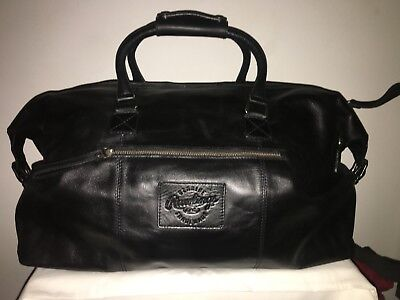 f17339894b5 Rawlings Genuine Leather Duffle Overnight Bag Brand New With Tags Retail   600!