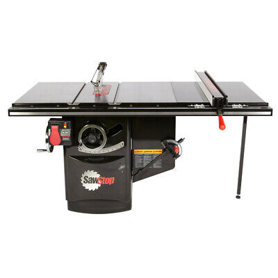 SawStop 480V 3Ph 7.5HP 9A Cabinet Saw w/ 36 in. Fence ICS73480-36 New