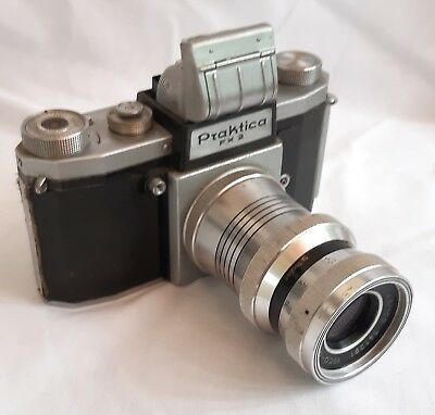 Praktica FX2 with Unusual Isco-Gotingen Isconar Lens