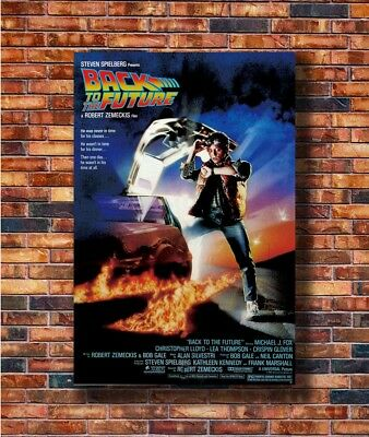 New Nice Fabric Cloth Wall Movie Back To The Future Poster 14x21 24x36 Art X2067