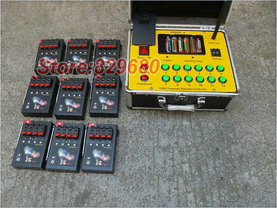 Digital Remote 36 Cues fireworks firing system wedding gift copper wire display