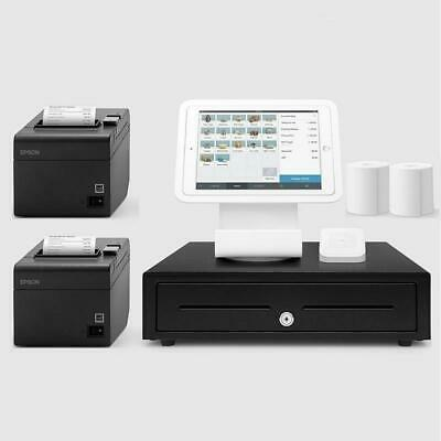 Square Stand Hospitality POS System for iPad with a Kitchen printer Bundle #20