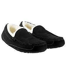 Kirkland Signature Men's Size Shearling Lined Slippers New Without Box