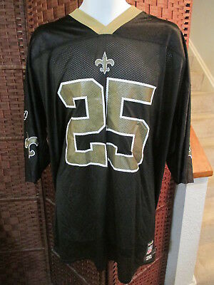 Reebok NFL Players Reggie Bush New Orleans Saints Football Jersey Size 2XL c72d74d6d