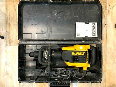 DeWalt D25899-XE SDS Max Demolition Hammer 10kg 1500W 2 bits in case Supercheap