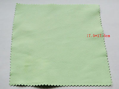 Large Size 175mm Square Silver Polishing Cloth Jewelry Cleaner Anti-Tarnish