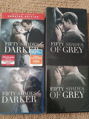 Fifty Shades Darker DVD Romance Dakota Johnson Edition 2017 & Fifty Shades Grey