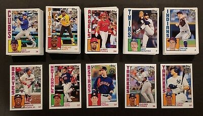 2019 Topps Series 1 1984 TOPPS BASEBALL INSERT You Pick Complete Your Set