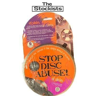 d_skin - STOP DISC ABUSE - PROTECTIVE DISC SKINS - 2 PACKS OF 5 FOR $34.95 - ...