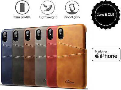 🔥iPhone X/XS 6/6s 7/8 7/8 Plus Leather Slim Wallet Case iPhone For Apple 🔥