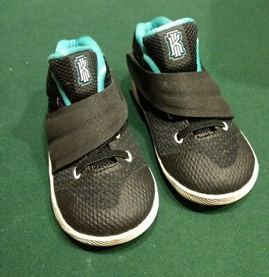 67a61f565d5a NIKE KYRIE 2 (TD) Toddler s Shoes Black Hyper Jade White 827281-001 ...