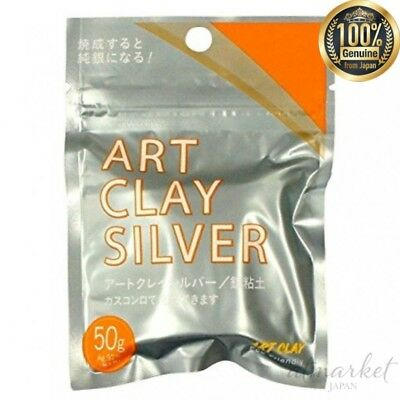 NEW Art Clay Silver 50g silver work genuine from JAPAN