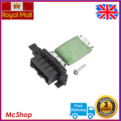 Heater Blower Resistor Peugeot Partner Citroen Berlingo (2008-) 6480.55