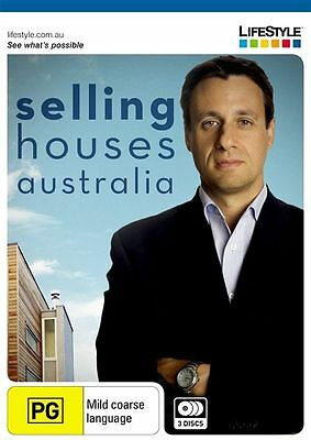 - Selling Houses Australia Series 1 [3 Dvd Set] (As New) All Regions [$64.75]